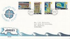 Jersey 1982 Europa FDC with enclosure VGC