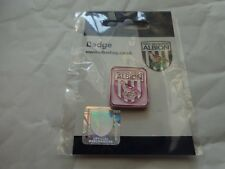 Clásico West Bromwich Albion West, Brom Rosa Crest-Insignia Pin de fútbol