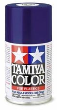 TAMIYA COLORE SPRAY PER PLASTICA DEEP METALLIC BLUE BLU METALLIZZATO 100ml  TS53