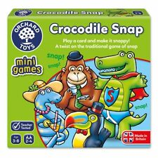 Orchard Toys 356 Play a Card and Make It Snappy Crocodile Snap Game