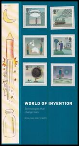 2007 GB World of Invention Royal Mail Presentation Pack No.395