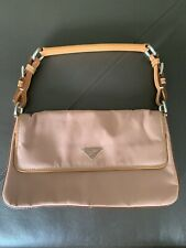 PRADA MINI Pink NYLON POUCHETTE HOBO BAG PURSE