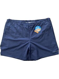 NWT Columbia Men's Blue Backcast III Mesh Swimming Trunks Swimwear Size 4X