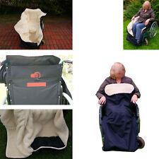 Rollstuhlschlupfsack Rollstuhlsack Lammwolle _;*Naturprodukt_WASSERABWEISEND#