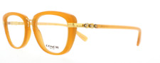 Authentic COACH 6106B - 5455 Eyeglasses Amber Gold *NEW*  50mm