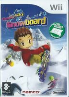 FAMILY SKI AND SNOWBOARD=NINTENDO Wii=SNOW=BOARD=AGE 3+=HALF PIPE=FIT BOARD
