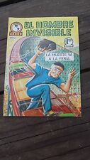 1965 MEXICAN COMIC EL HOMBRE INVISIBLE # 32 (INVISIBLE MAN ADVENTURE/MONSTER)