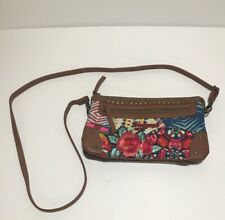 Desigual Dorothea Purse Colorful Floral Embroidered Say Something Nice!! Bag