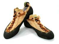 La Sportiva Mythos Size 39 1/2  US 7 Grip Rock Climbing Shoes Women's Italy