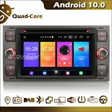 "7"" Car Audio CD GPS Android 10.0 Bluetooth Wifi Ford Fiesta Transit Conectar Kuga"