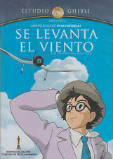 DVD - Se Levanta El Viento NEW The Wind Rises Hayao Miyazaki FAST SHIPPING !