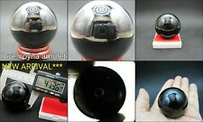 LEKLAI KAEW NAGA EYE GEM BLACK SPHERE BALL POWER WEALTH LUCK THAI AMULET SOMPHON