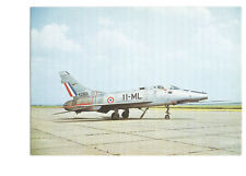 Postcard North American Super Sabre F100D Duxford collection jet    (B4l)