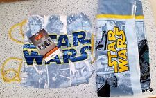 Disney Star Wars Beach Towel & Tote 100% Cotton New Free Ship