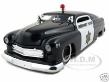 1951 MERCURY POLICE CAR 1:24 DIECAST MODEL CAR BY JADA 92454