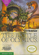 BATTLE OF OLYMPUS CLASSIC SYSTEM NINTENDO GAME ORIGINAL NES HQ