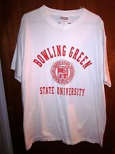 BOWLING GREEN University school seal lrg tee old-school BGSU Ohio T shirt