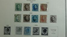 Belgium stamp collection on Scott / Minkus pages w/ est. 1,200 or so
