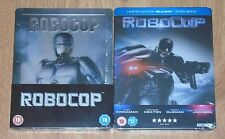Robocop 1987 & Robocop 2014 - (Blu-ray) steelbook. NEW & SEALED. UK release.