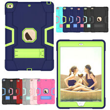 Shockproof Heavy Duty Hard Case Stand Cover For iPad 7th Gen Air 3 Mini 5 Pro 11