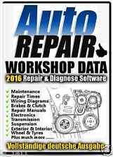 ALL WORKSHOP DATA 2016 Autos Reparaturanleitungen, Schaltplan,Instandhaltung DVD