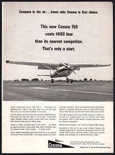 1965 CESSNA 150 Vintage Aircraft Plane Airplane Aviation AD