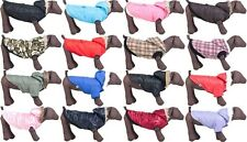 Dog Coat Padded with Hoodie -Winter Parka Jacket- UK Seller
