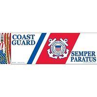 "United States Air Force Bumper Sticker 3.25x9/"" Blue Logo Emblem Decal"
