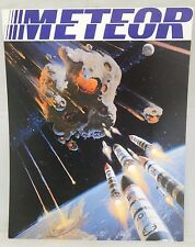 1978 METEOR Movie Promo 11x14 Card Stock Poster American Int'l Pictures EX