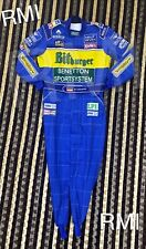 F1 Michael Schumacher 1995 Embroidered  Patches suit Go Kart/karting Race Suit