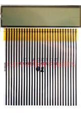 JAGUAR XJ6, XJS AND X300 CLOCK LCD DISPLAY WITH ATTACHED RIBBON 1995-1997