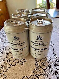 Anheuser Busch Busweiser 1993 Drinking Water Six Pack Fairfield CA