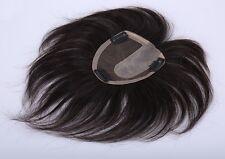 """4x4.7""""100% virgin human hair replacement system top piece wiglet for women men"""