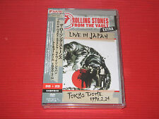 ROLLING STONES From The Vault Extra Live In Japan TOKYO Dome '90 JAPAN DVD + 2CD
