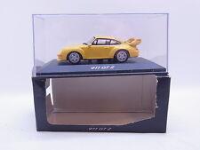 LOT 40699 Minichamps Porsche 911 GT2 Typ 993 gelb Modellauto 1:43 in OVP