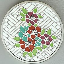 2014 $20 Stained Glass: Craigdarroch Castle - 1 oz. Pure Silver Color Proof Coin