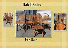 LIGHT OAK chair dinning set X5, from OAK WAREHOUSE,good condition