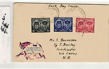 Australia 1945 #197-199 SCARCE FIRST DAY COVER - Set Governor General CAIRNS