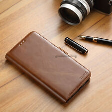 For Samsung Galaxy S7 Edge Leather Flip Wallet Case Cell Phone Cover Pouch Stand