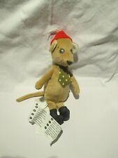 IKEA TASSA Hund Ratte Maus rot Stofftier Plüschtier ca 30 cm