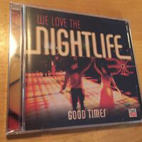 TIME LIFE MUSIC We Love The Nightlife: Good Times 2 CD SET BRAND NEW & SEALED !!