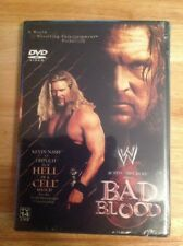 Wwe Bad Blood (DVD,2003)NEW  Authentic Region 1