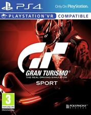 Gran Turismo Sport PS4 * NEW SEALED PAL *