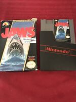 Jaws (Nintendo Entertainment System, 1987) Tracked Shipp Canada 🇨🇦