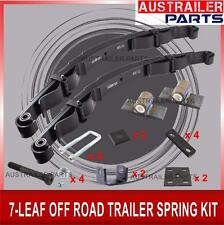 7-LEAF OFF ROAD TRAILER SPRING KIT -TRAILER PARTS-SUITABLE FOR OFF ROAD TRAILER