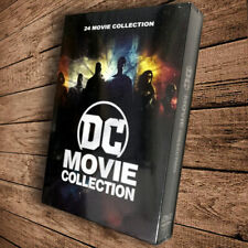 Dc Comics 24 Film Movie Collection Lot (Dvd 12-Disc Set 2020) Fast shipping