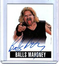 Balls Mahoney A-BM 2014 Leaf Originals Wrestling Authentic On Card Autograph WWE