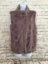 Sanctuary clothing los angeles  Light brown faux fur vest, size S