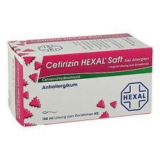 CETIRIZIN HEXAL Saft b. Allergien 150ml PZN 01830123