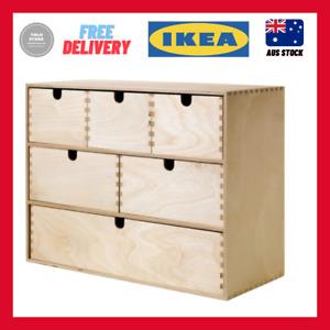 IKEA MOPPE Mini chest of drawers, birch plywood 42x18x32 cm